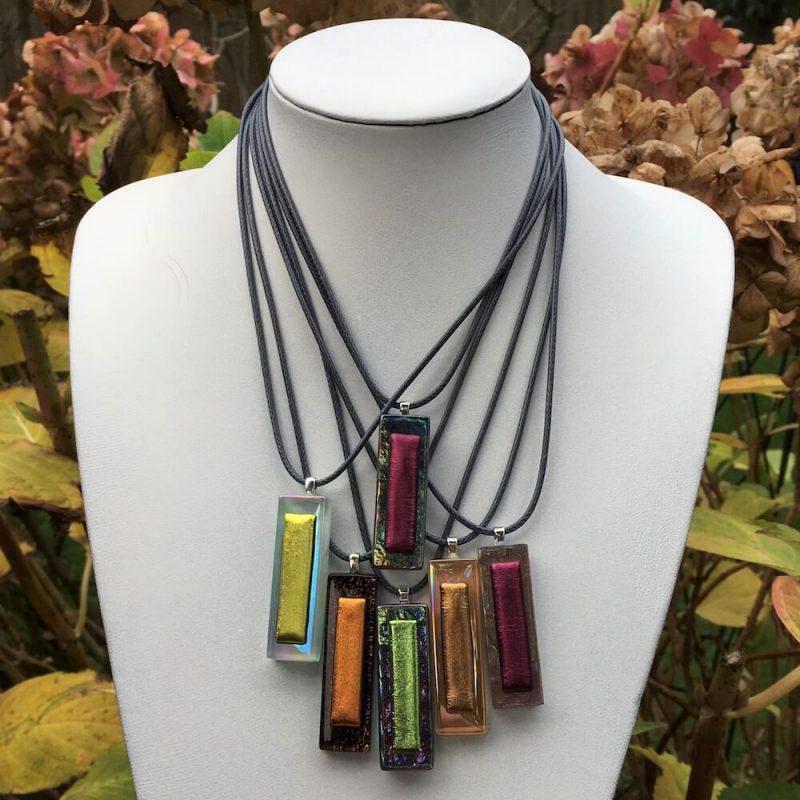 F&M De Santis Jewellery's Handmade Necklace Collection - Glass & Resin Pendant Necklaces