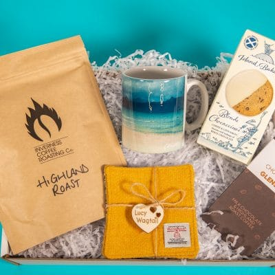A Whale of a Time - The Coffee Box - Gift box with coffee and biscuits