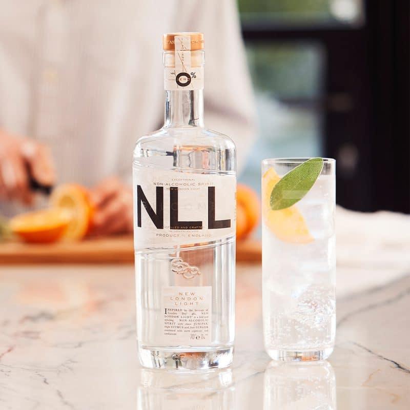 Salcombe Distilling Company - 'New London Light' Non-Alcoholic Spirit - Refreshing Non-Alcoholic Spirit