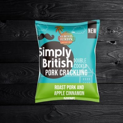 Siimply British Roast Pork & Bramley Apple Pork Crackling